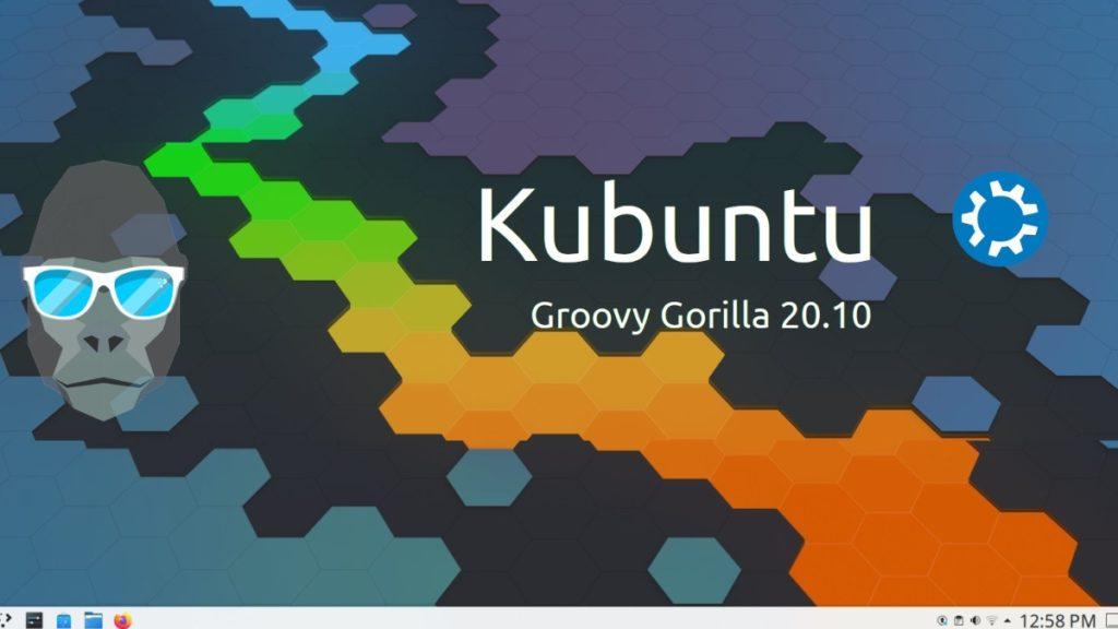 Kubuntu 20.10 Groovy Gorilla