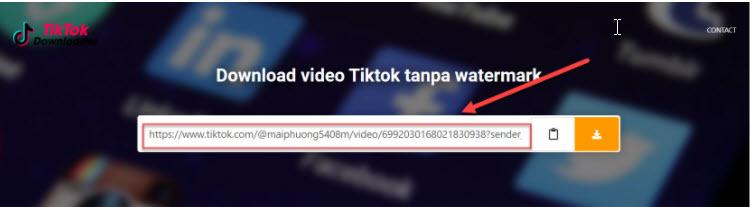 tải video tiktok về điện thoại